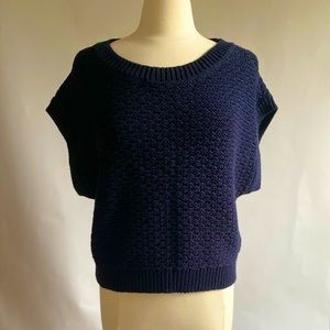 Rag & Bone Navy Blue Cotton Sweater